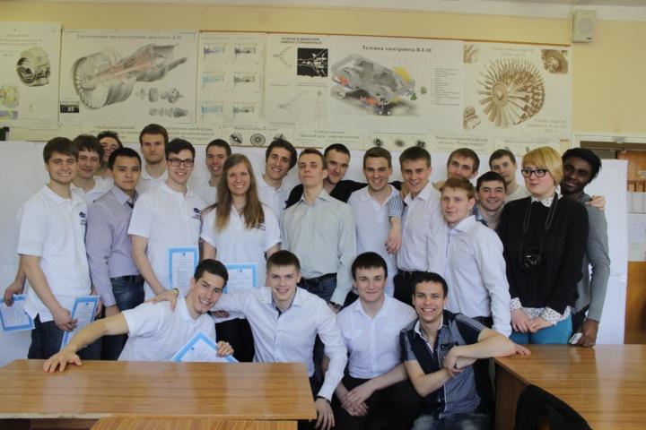 Beim Besuch 2015 im Samara