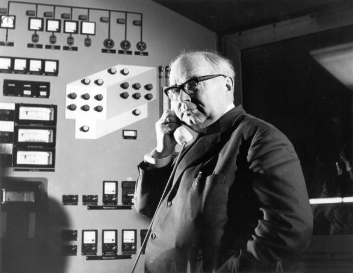 ILA's founder Ulrich Senger (c)